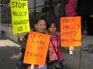 Pisey Ly and Kao Tha are AMAZING activist for Cambodian sex worker liberation!!