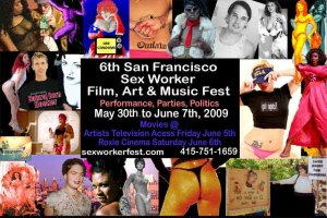 Sex Worker Festivals and Art Shows